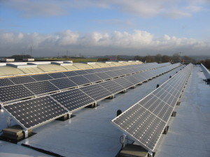 Photovoltaik - Hauptgebäude Valentin